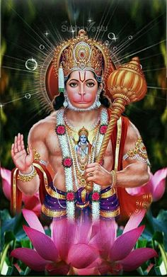 Lord Bajrang Bali Hd Painting God Wallpaper Lord Hanuman Images