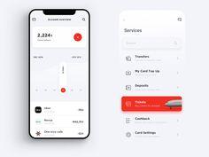 Services Ui designed by Peng. Connect with them on Dribbble; Web Design, App Ui Design, User Interface Design, Design Case, Media Design, Graphic Design, App Design Inspiration, Design Ideas, Ios