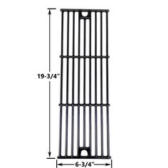 Gloss Cast Iron Replacement Cooking Grid For Char-Griller 3008 Gas Grill Models
