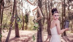 A whimsical inspiration shoot based on the feeling of being 'lost in time' when you're in love When Youre In Love, Whimsical, Strapless Dress, Wedding Inspiration, Lost, Pure Products, Dresses, Fashion, Strapless Gown