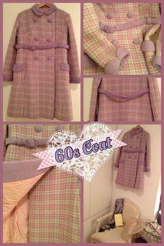 Vintage Coat 1960s - 80€   Shop here http://www.vintagers.com/bree/shop/products/vintage-coat-1960s/