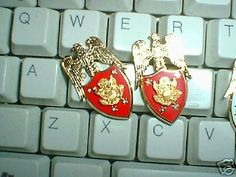 ARMY AIDE TO SECRETARY OF ARMY  COLLAR BRASS SET-