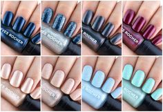 Yves Rocher Holiday 2015 Limited Edition Nail Polish Collection: Review and Swatches