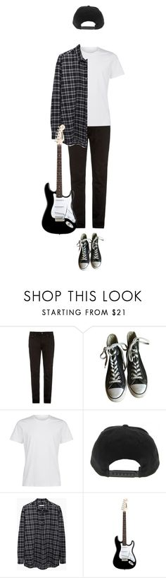 """""""M a l e ♡"""" by cutefatboy ❤ liked on Polyvore featuring Acne Studios, Converse, 6397, men's fashion and menswear"""