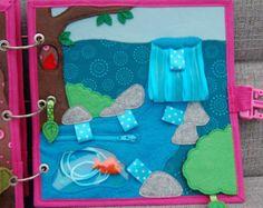 Quiet book Fairy for girl PATTERN & TUTORIAL door MirzaCrafts