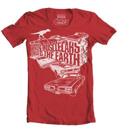 Women's When Mopar Muscle Cars Ruled The Earth T-Shirt (Color Options)