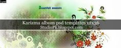 Karizma Album Psd Templates 12x36 Download