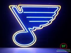 Compare prices on St. Louis Blues Neon Lights from top online fan gear retailers. Save money when buying the neon sign of your favorite sports team. Blue Neon Lights, Neon Light Signs, Led Neon Signs, Neon Signs Home, Custom Neon Signs, Blues Nhl, Pub Signs, St Louis Blues, Man Cave Bar