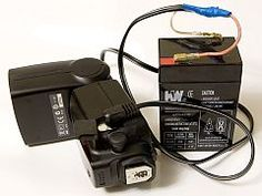 More Power To Your Flash - External SLA Battery Flash