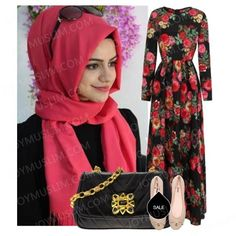 "Hijab outfit!Fashion-oriented—-Style Inspiration | joyMuslim!""WHEN non-Muslims think of Islamic fashion, they usually imagine stark black dresses and plain white head scarves, or even burqas – uniform outfits that afford little room for originality.But Saubia Arbab, like many of the city's young Muslims, defies stereotype, making the look her own with a unique blend of old and new. JOYAS İPEKSİ ŞAL pink hijab is not only relief the bore of traditional balck ,but also smart and lively ."
