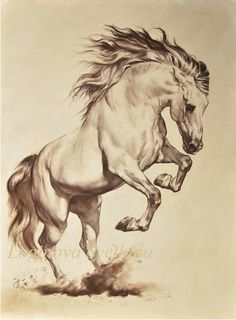 Painting horse tattoo ideas for 2019 - painted. - Painting horse tattoo ideas for 2019 – painted. Horse Pencil Drawing, Horse Drawings, Animal Drawings, Pencil Drawings, Drawing Animals, Drawing Art, Pencil Art, Painted Horses, Horse Tattoo Design