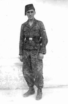 "WWII. - 1941-45. - Croatia/NDH - Member of the 13.Waffen-Gebirgs Division der SS ""Handschar"""