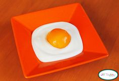Eggs Over Easy: Don't worry about breaking this yolk! All you need for Meet the Dubiens' fake-out breakfast is some plain yogurt and a peach.  Source: Meet the Dubiens