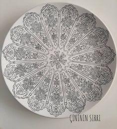 Easy Hand Drawings, Diy Tie Dye Shirts, Geometric Designs, Mandala Art, Islamic Art, Pattern Art, How To Draw Hands, Decorative Plates, Sketches
