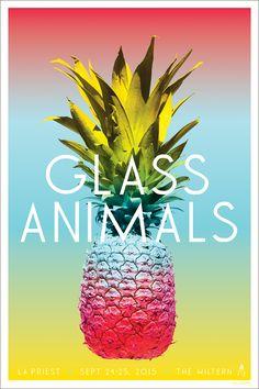 Glass Animals - LA Gig Poster