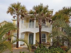 House vacation rental in Panama City Beach. 5br, pool, across street from beach, $3895,