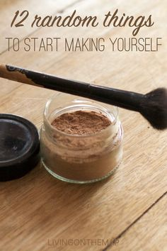 12 random things to start making yourself Everyday Objects, Baking Ingredients, Cookie Dough, Packaging, Make It Yourself, Natural, Easy, How To Make, Food