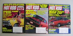 Hot Rod Magazine Lot Of 3    Vintage 1994 / Lots Of Great How To Info & Pro Advice!  Plus Great Photos & Articles! $12.99