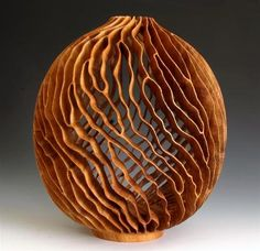 J. Paul Fennell - Mesquite Swirls II   Crafted, sculpted wood.  Stunning