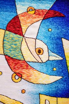 Handwoven Peruvian Tapestry Celebration by MuseoMaximoLauraPeru