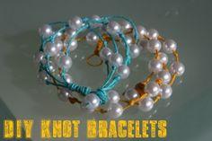 DIY Knot Bracelet. SO cute!