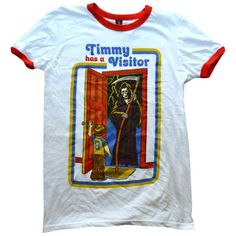 'Timmy Has a Visitor' Ringer Shirt