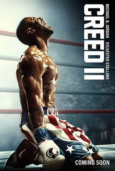 Creed II is a movie starring Michael B. Jordan, Sylvester Stallone, and Tessa Thompson. Under the tutelage of Rocky Balboa, heavyweight contender. Latest Movies, New Movies, Movies To Watch, Good Movies, Movies Online, Movies Free, Family Movies, Comic Movies, Netflix Movies