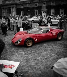 Yep, the most interesting cars in the world. Alfa Stradale -