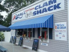 Clam Cakes, Rhode Island Beaches, Local Legends, Soft Serve, Rhodes, Clams, Outdoor Dining, Great Recipes, Seafood