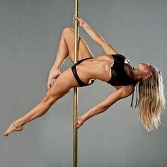 Layback (top leg bent, bottom leg pointing down).