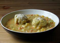 Newfoundland Pea Soup w/ Doughboys  (vegan)