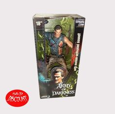 "Army of Darkness 18"" Motion Activated Ash *As-Is*"
