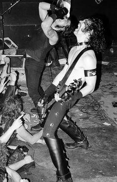 Glenn Danzig and Eerie Von