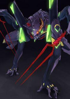 Neon Genesis Evangelion, Gurren Laggan, Hideaki Anno, Good Anime Series, Gundam Art, Mecha Anime, Super Robot, Anime Japan, Animes Wallpapers