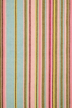 "2013: ""DashAndAlbert.co,"" Jamaica Ticking Woven Cotton Rug"