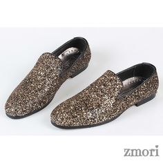 Black Gold Glitter Bling Bling Mens Oxfords Loafers Dress Shoes Flats, Material: Glitter Outer and Leather InnerSole Measurement: 1 cm Oxford Shoes Outfit, Flat Dress Shoes, Gold Bridal Shoes, Wedding Shoes, Wedding Attire, Mens Dress Outfits, Men Dress, Comfortable Mens Dress Shoes, Celebrity Shoes