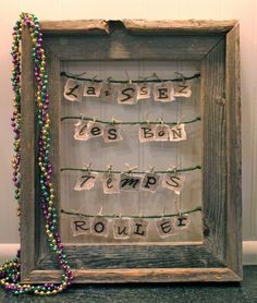 let the good times roll! Making this for Mardi Gras or just because