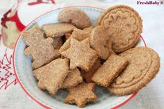 zuckerfreies Babyrezept für Weihnachten oder im Alltag Bananen-Vollkorn-Kekse am 9. Dezember im Adventkalender von Babyspeck & Brokkoli auf babyspeck.at. Gastbeitrag von Freshbaby