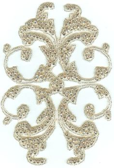 Check out the deal on 1187 iron on Rhinestone Applique at Glitz and Glamour