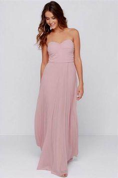 Awesome blush maxi dress