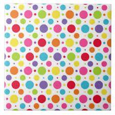 Resultado de imagem para polka dots rainbow