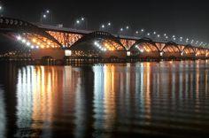 Seongsan Bridge in Seoul, Korea