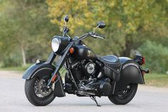 On the road with Indian Motorcycle's $17,000 Chief Dark Horse. http://onforb.es/1Lj1PCg