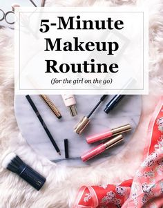 Morning Makeup Routine: 5-Minute Face | Visions of Vogue #makeuproutine #5minmakeup #makeuptips