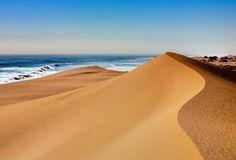 Dove il deserto incontra l'oceano... Namibia