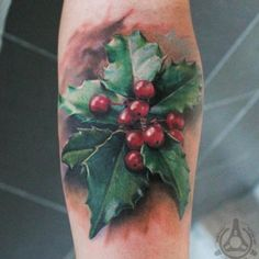 Hyper-realistic Holly Tattoo by Led Coult #inkedmag