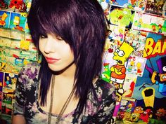 I've always loved scene hair. - Hair Styles - nice I've always loved scene hair… by www. Medium Scene Hair, Short Scene Hair, Emo Scene Hair, Medium Hair Cuts, Medium Hair Styles, Natural Hair Styles, Short Hair Styles, Short Emo Haircuts, Scene Haircuts