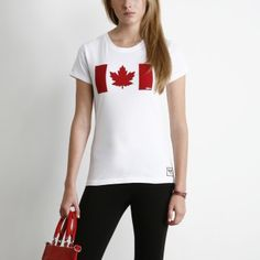 Represent Canada in style with a limited edition Roots x Right To Play tee! via canada.roots.com