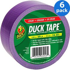 purple duct tape | Duck Brand Purple Duct Tape, 6-Pack: Crafts : Walmart.com