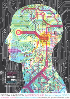 Circuit Head poster design by Santi Pozzi.